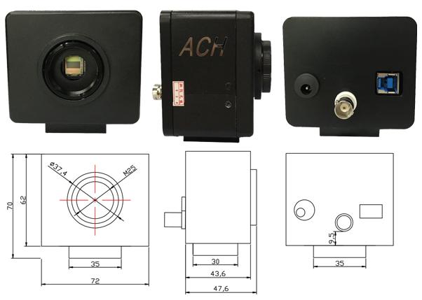 ach technology co ltd マシンビジョンカメラ rinks web